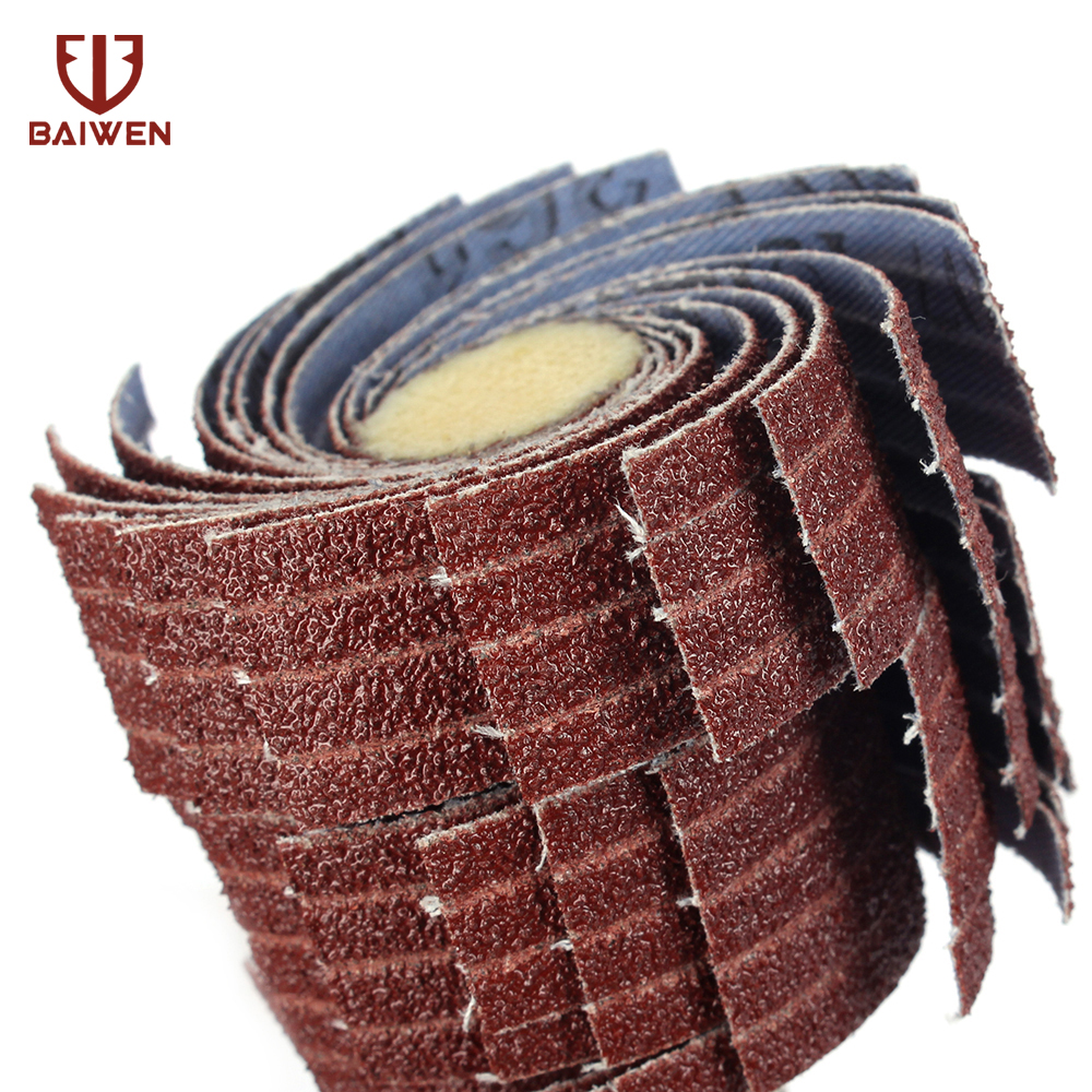Grit 80#-600# Emery Cloth Flap Wheel Disc Sanding Abrasive For 25MM Drill