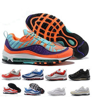 Max 98 Gundam South Beach Racer Air 97 Qs Cone Qs Vibrant Gmt Triple 96 Tour 95 Women Men Running Shoes Sneakers