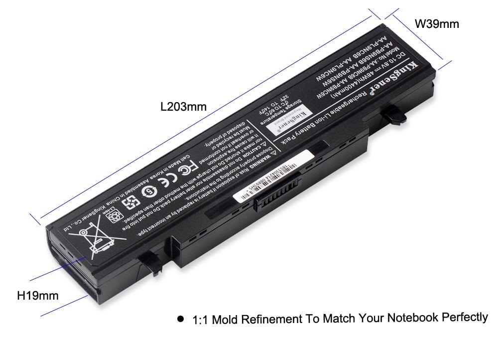 Аккумулятор для ноутбука KingSener AA-PB9NC6B - Аксессуары для ноутбуков - Фотография 5