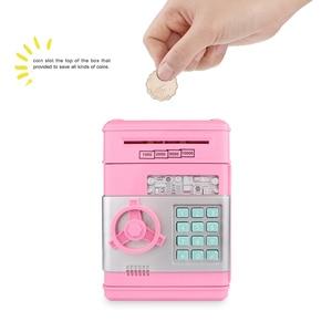 Image 2 - Youool 전자 돼지 저금통 ATM 비밀 번호 돈 상자 현금 동전 저장 ATM 은행 안전 상자 자동 스크롤 종이 지폐 아이를위한 선물
