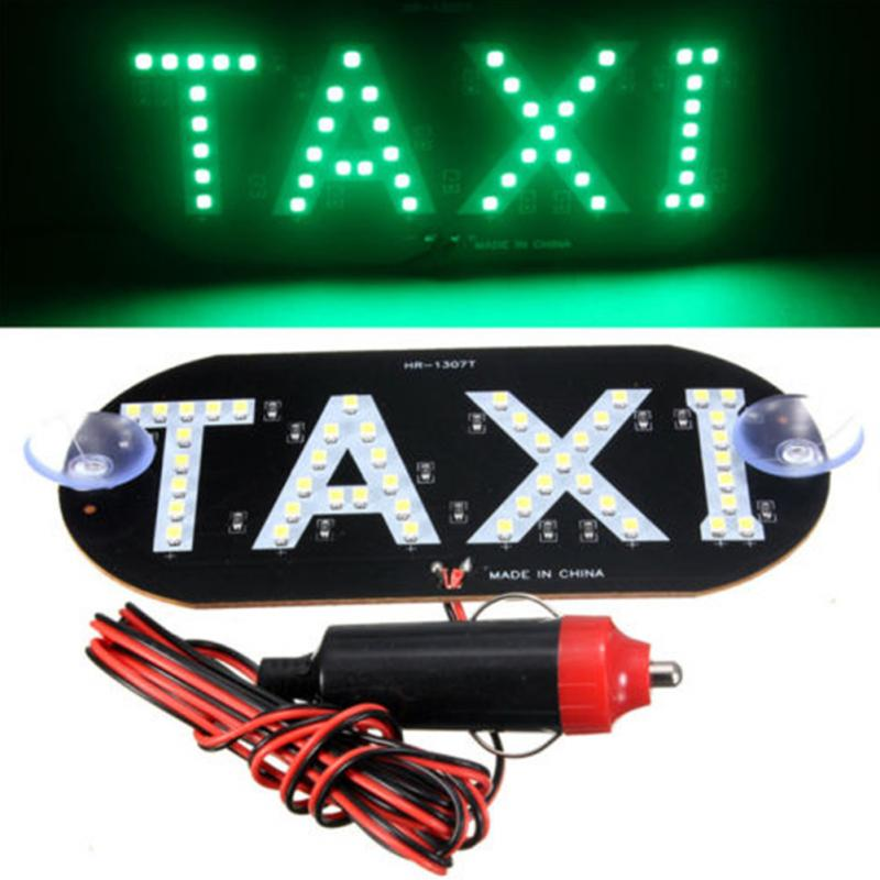 <font><b>Car</b></font> styling Taxi <font><b>Led</b></font> <font><b>Car</b></font> Windscreen indicator Lamp Sign With <font><b>USB</b></font> <font><b>LED</b></font> Windshield Taxi Light Lamp 12V <font><b>Car</b></font> accessories image