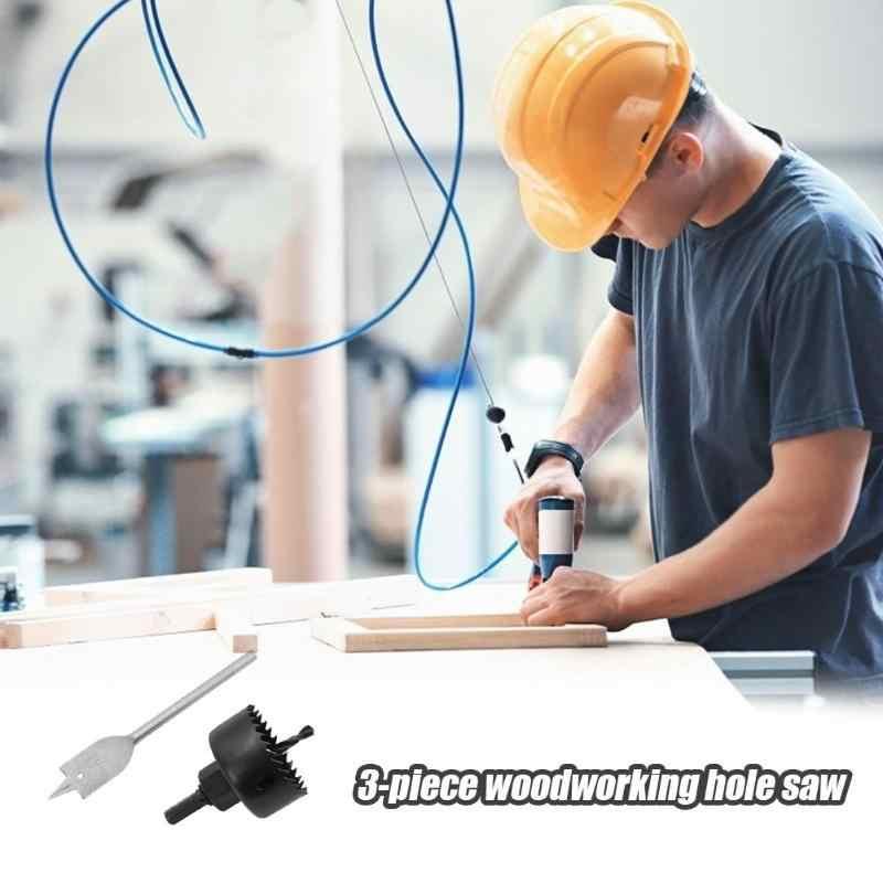 3 pcs Countersink מקדח סט מקדד בורג ציר חור מסור קידוח Chamfer עבור גבס לוח, פלסטיק, עץ לוח