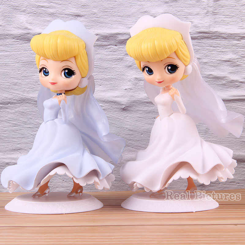 Qposket Princesa Cinderela Q Posket Dreamy Estilo PVC Action Figure Collectible Modelo Toy 14.5 cm