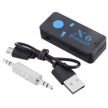 New Adapter Bluetooth Receiver Auto Car Bluetooth Aux Kit Support TF Card A2DP Audio Stereo Bluetooth Hands Free Music Receiver bluetooth 4 0 car kit 3 5mm usb stereo audio music receiver car kit wireless dongle adapter a2dp for aux car