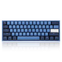 Akko Ducky One 2 Mini Ocean Star Cherry MX Switch PBT Keycap 60% Mechanical Gaming Keyboard Brown Red Cherry Swtich Keyboard