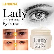 LANBENA Whitening Eye Cream Eye Serum Dark Circle Anti-Aging Eye Patch Repair Ageless Lifting Firming Anti-Puffiness Skin Care
