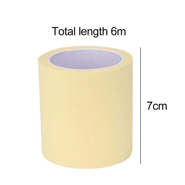 1 rollo axila prevenir que el sudor almohadillas desechables transparentes desodorantes las axilas antitranspirante pegatina Anti sudor mantener seco de la etiqueta engomada