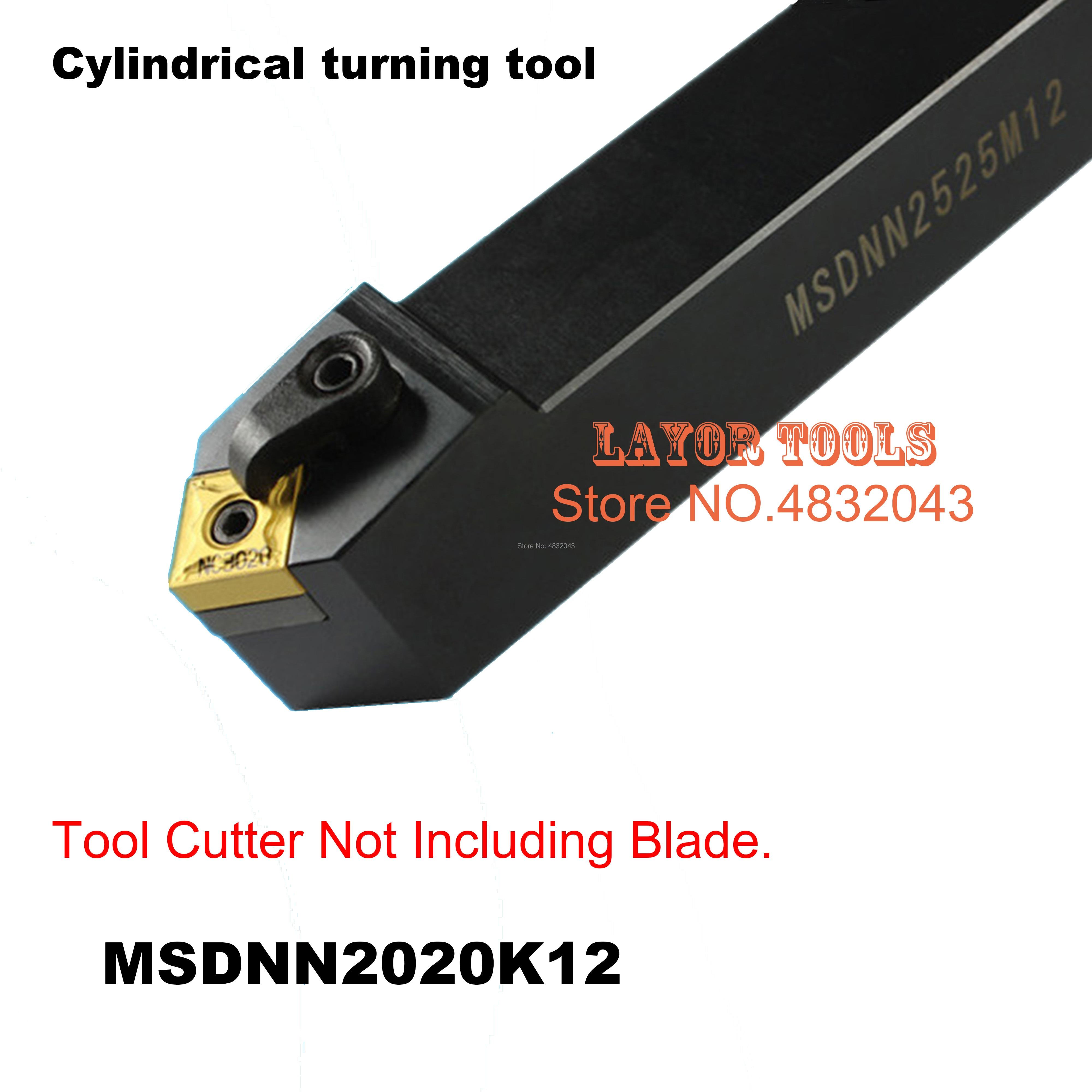 MSDNN2020K12, lojas de Fábrica de ferramentas de viragem extermal, a espuma, chato bar, cnc, máquina, Factory Outlet