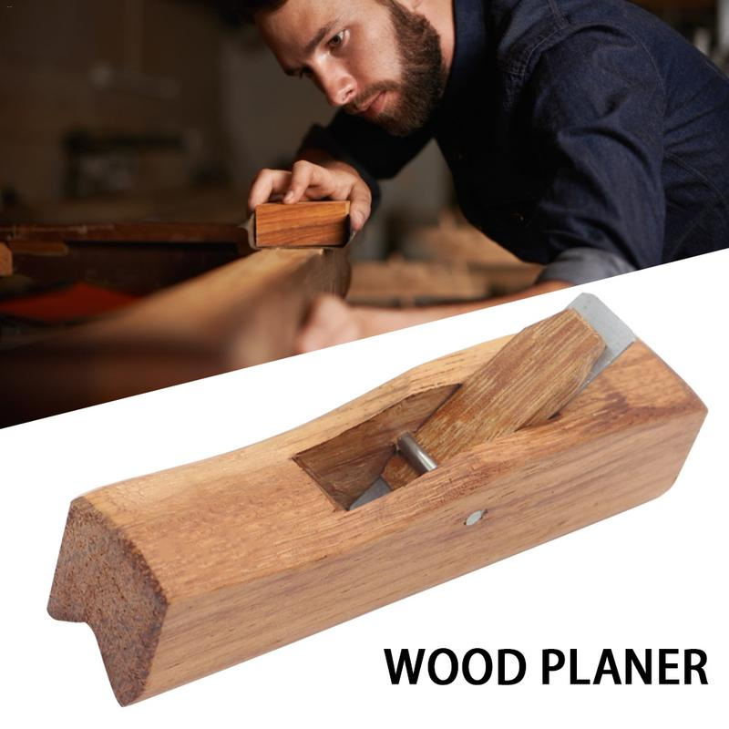 Indonesia Mahogany Wood Planer Hand Tools Radius Plane Tools For Edge Trimming/Corner Shaping/Chamfer/interior Angle