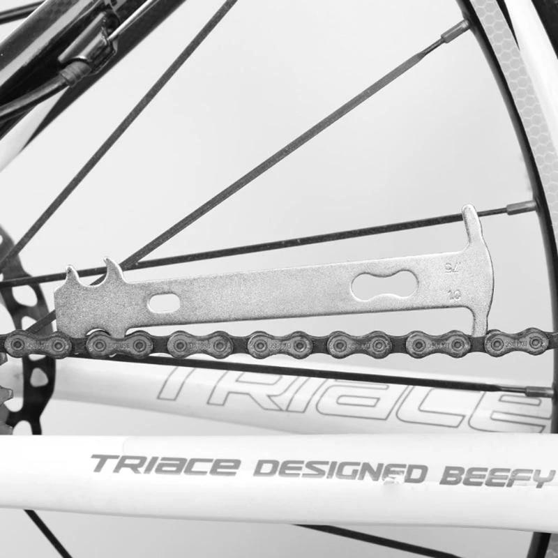 Bicycle Chain Wear Indicator Checker Mountain Road Bike MTB Chains Gauge 1pcs