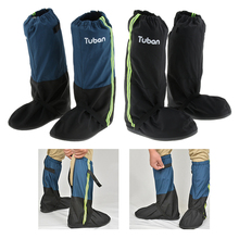 Leg Gaiters Waterproof Anti-Tear Oxford Hiking Skiing Walking Shoes Cover