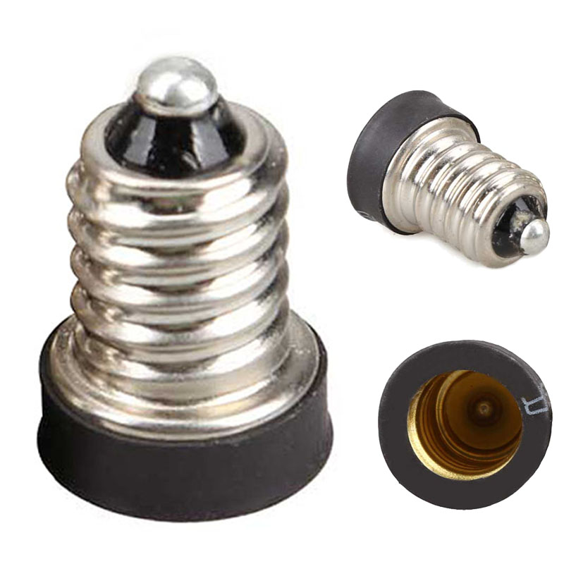High Quality E14 to E12 Base Adapter Converter Lamp Holder Lamp Adapter 88 8  88 WXV SaleHigh Quality E14 to E12 Base Adapter Converter Lamp Holder Lamp Adapter 88 8  88 WXV Sale