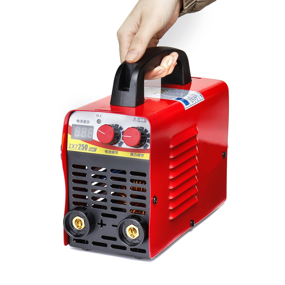 220V Welding Machine 6KW/9.5KW ZX7 250 10 250A Arc Force Electric Mini/Pro LCD Digital Display MMA IGBT Inverter Welders Newest