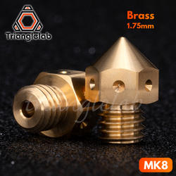 3 шт Высокое качество MK8 насадки для 3D принтеры hotend MakerBot нити головы медные сопла j-глава экструзии 0,2/0,4/0,6/0,8 мм