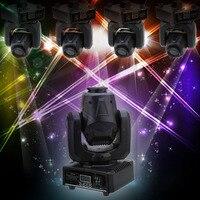 Диско DJ 30 Вт DMX512 звук Управление Авто вращающийся 9/11 Каналы Радуга 7 Цвета изменение двигая головой света светодиодный этап лампа с узором