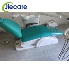 1 zestaw Dental jednostka fotel dentystyczny pokrycie siedzenia pokrowiec na krzesło elastyczna ochronna ochraniacz na drążek skrzyni biegów sprzęt dentystyczny