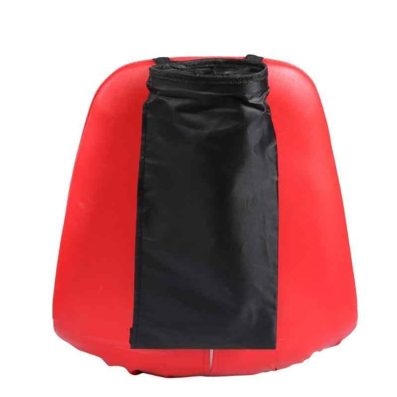 Leak-proof portátil Do Assento de Carro de Volta Saco de Lixo Poeira Box Titular Caso Auto Lata de lixo Carro Styling Oxford Pano saco de armazenamento Organizador