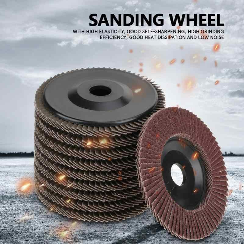 10 قطعة حصى 60 طحن الرملي عجلة قرص رفراف إطارات لامعة 100*6*16mm عالية الجودة بالجملة