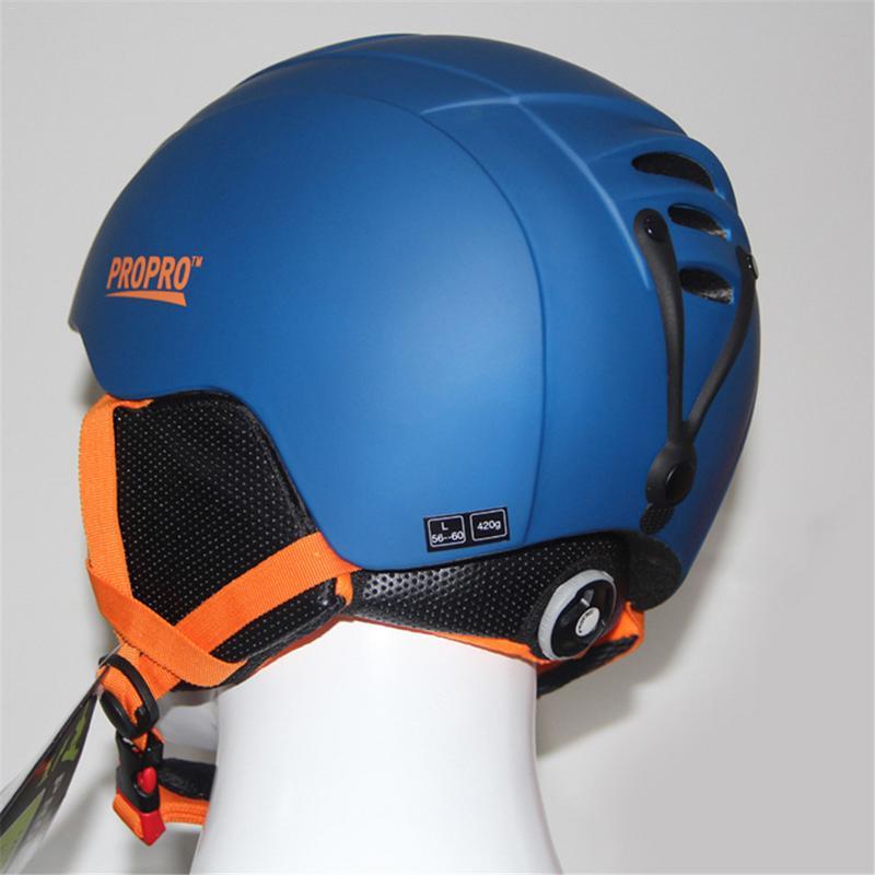 1 pièces unisexe casque de Ski simple et Double planche neige casque coupe-vent chaud Sports de plein air protégé équipement de sécurité