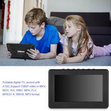 LEADSTAR портативный ATSC 7 дюймов 16:9 цифровой телевизор TFT светодиодный 1080P HD HDMI видео плеер горячая распродажа