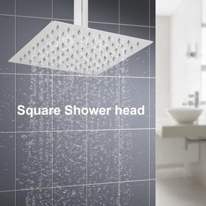 1Pc Square Stainless Steel Sho