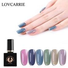 Lovcarrie Manicure Morandi Series Gel Nail Polish Soak Off UV Semi Permanent Nagellak Gellak Gelpolish 10ml Primer Art