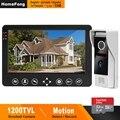 HomeFong система видеодомофона 1200TVL широкоугольная Поддержка записи обнаружения движения для домашней системы безопасности дверной Звонок ка...