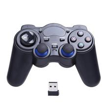 2.4GHz Wireless Game Controller Rechargeable Gamepad PC Smar