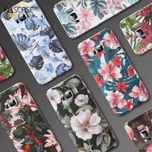 KISSCASE Leaves Flower Case For Samsung