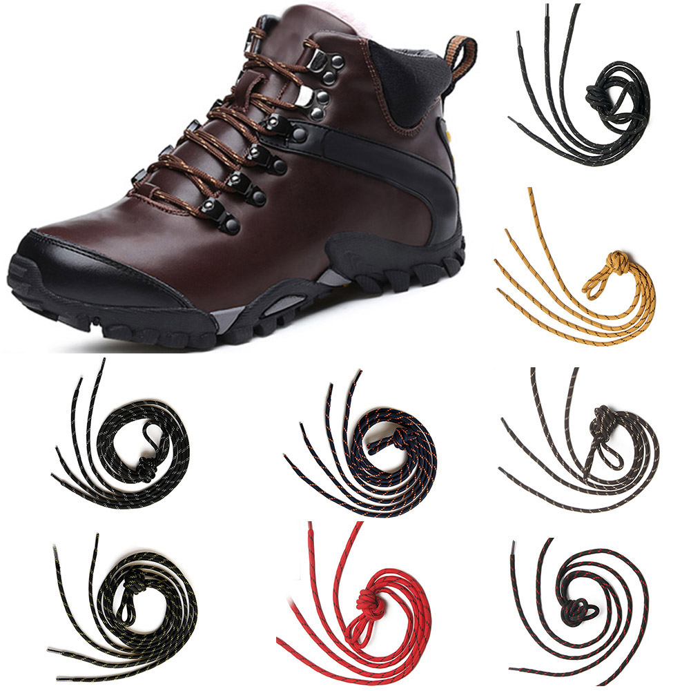 Fashion 110cm Round Shoelaces Outdoor Sport slip rope Shoe laces Casual Sneakers Shoelaces Hiking Boot Shoe Lace Strings 110cm