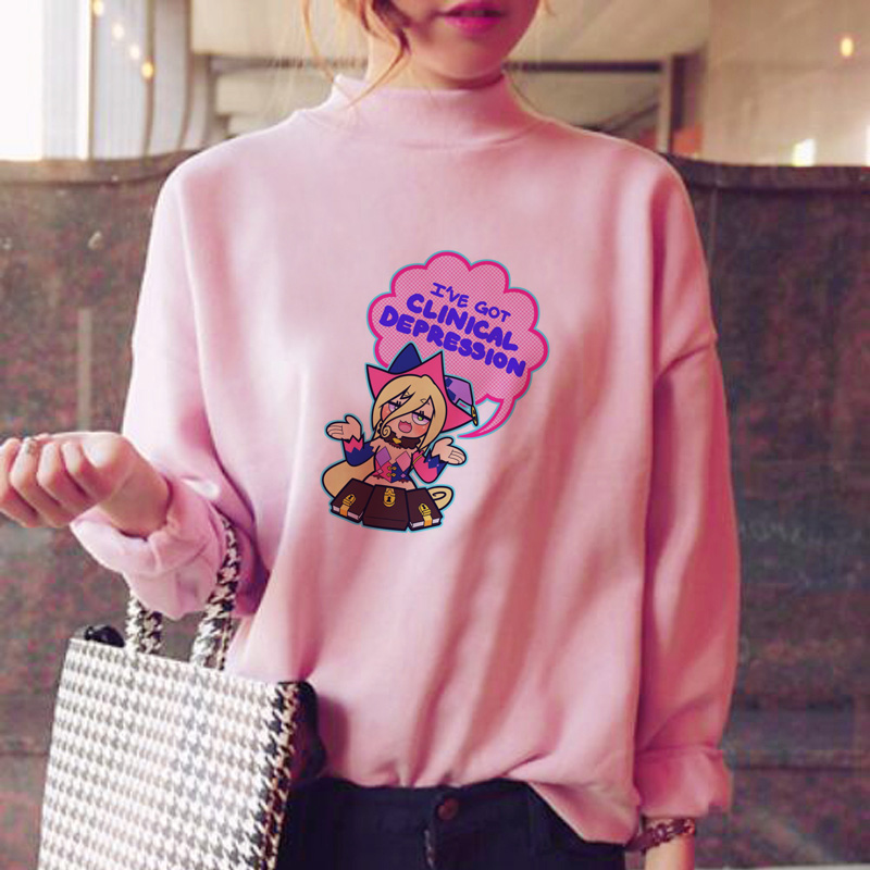 Tales Of Berseria Hoodies Women Sweatshirt Clothes Fleece Pink Streetwear Winter Fleece Oversized Sweat Shirt Ulzzang Female