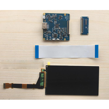"""Lcd light Curing 3d Printing 2560*1440 5.5"""" VR Projection LCD Screen Kit"""