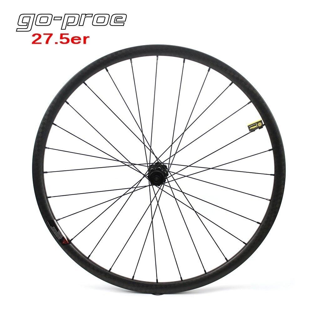 650B MTB Bike Carbon Rim 27.5er Mountain Bike Rim 35mm Wide Mountain MTB rim 1pc