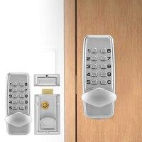 2 4 Digits MiNi Mechanical Code Lock Cabinet Indoor Outdoor Door Password Security Coded Lock 2019