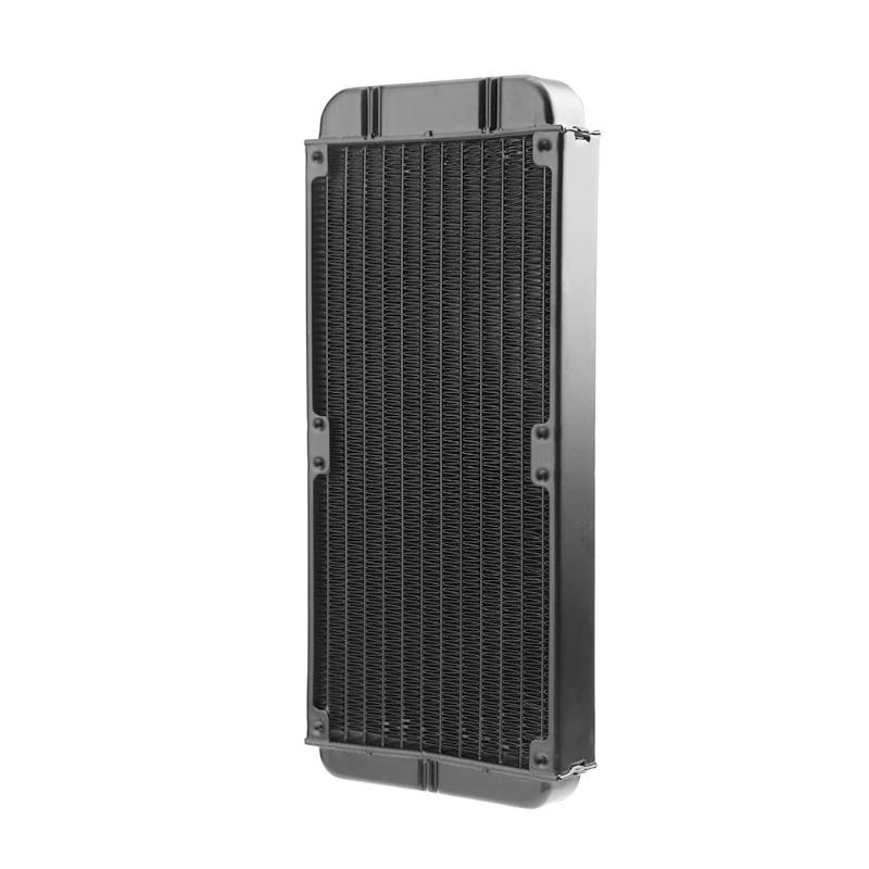 240mm 12-Tube Aluminum Alloy Computer Water Cooler PC Case Water Cooling Radiator Heat Exchanger for Laptop Desktop