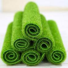 New 2 Size Micro Landscape Artificial Grass Landscape Home Accessories Aquarium Decor Artificial Lawn Garden Real Touch Moss(China)
