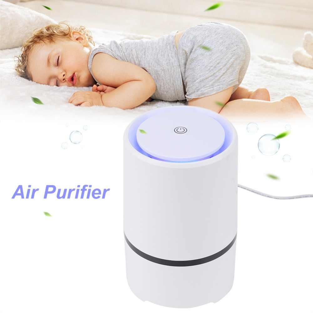 USB Luchtreiniger Ozon Ionisator Negatieve Generator Ionisator Luchtreiniger Verwijderen PM2.5 Formaldehyde Rook Bacteriën Luchtreiniger