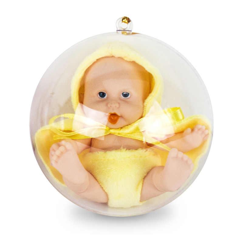 النوم الطفل تولد من جديد بيبي دمية الكرة واقية قذيفة جميلة اليدوية نابض بالحياة طفلة الصبي دمى سيليكون الأميرة لعبة للأطفال