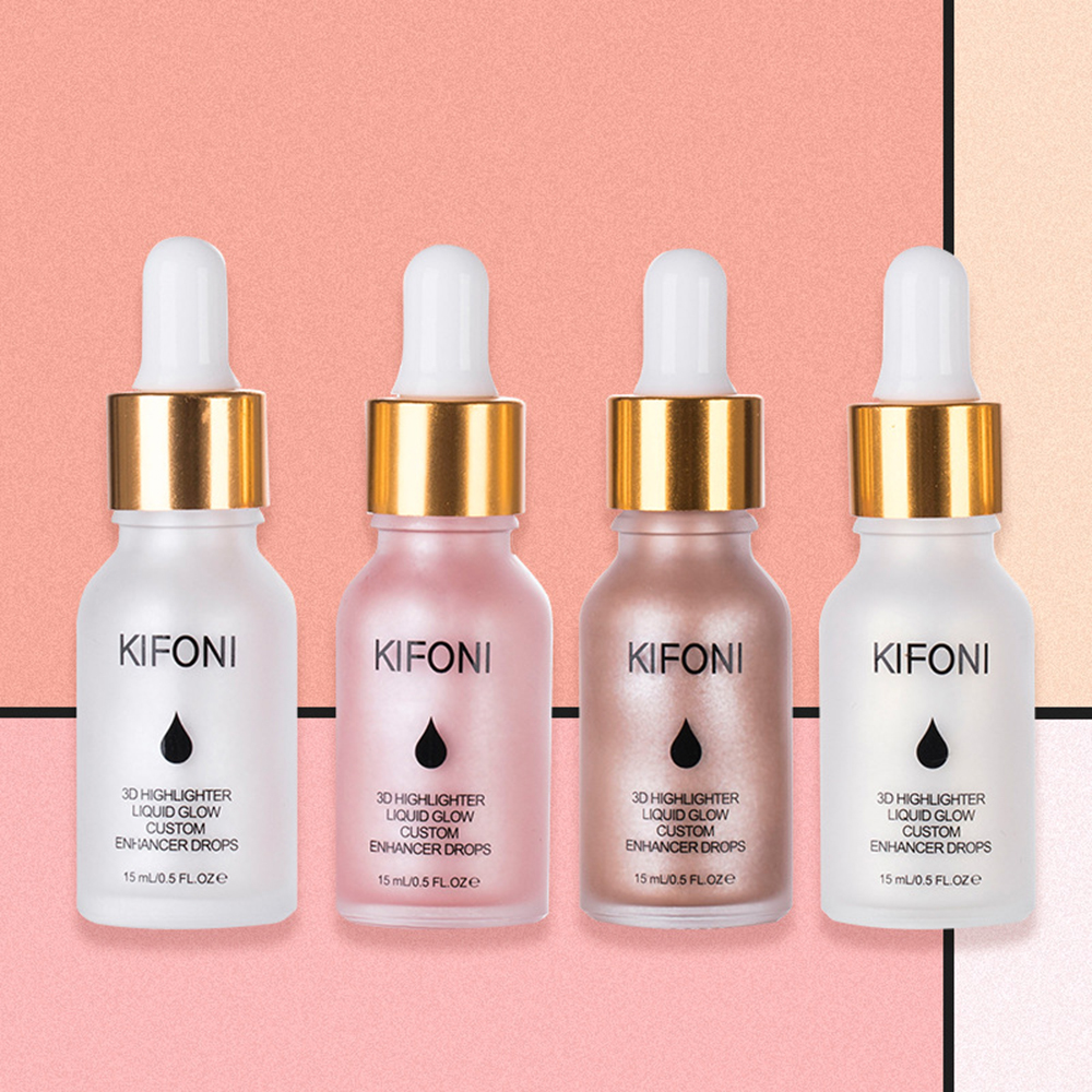 KIFONI Bronzers & Highlighters Liquid High Gloss Makeup Long-lasting Waterproof Brighten Stick Facial Natural Cosmetic TSLM1