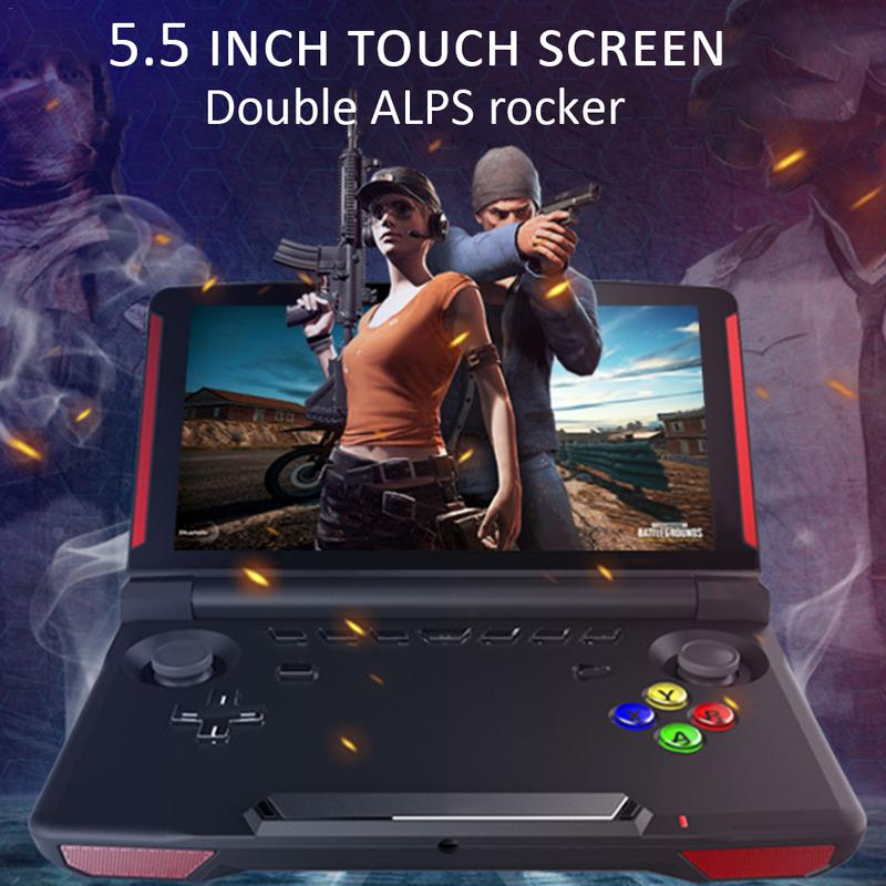 X18 LCD Screen Handheld Games Console Built in 1300 Classic Games Street Fighers Final Fight Video Game Player