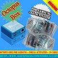 Original Octopus/octoplus box Completo activado para LG para Samsung 19 cabos incluindo optimus Cabo Unlock Flash & Repair ferramenta