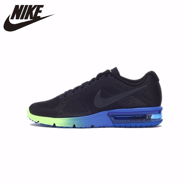 72e7533742 Original New Arrival Official NIKE AIR MAX SEQUENT Men's Cushioning Running  Shoes Colorful Sole Sneakers #719912