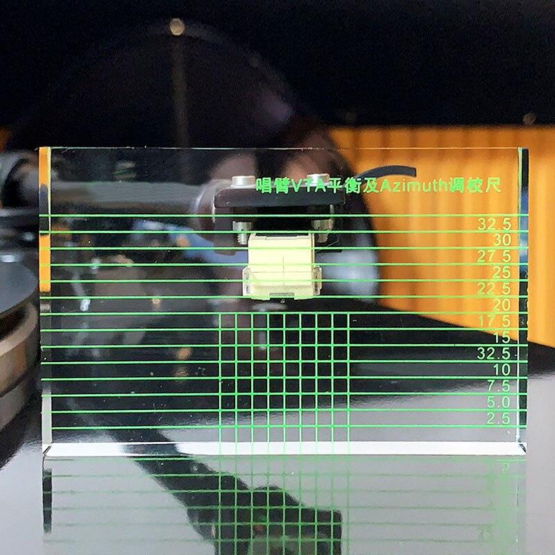 LP Vinyl Record Player Measuring Phono Tonearm LP Azimuth VTA/Cartridge Ruler VTA Balance Of The Singing Arm