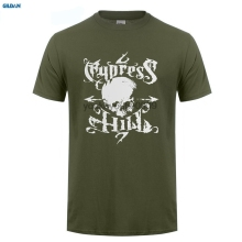 GILDAN  T Shirt Discount Cotton T Shirt For Men's Men's Cypress Hill Hip Hop T-shirt cypress hill cypress hill till death do us part