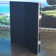 Waterproof HD P4.81 outdoor curved rental led screen 500x1000 smd RGB inner arc and outer arc portable led video wall
