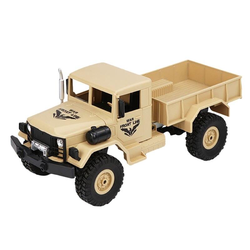 JJRC Q62 1:16 2.G 4Wd Off Road Trunk Crawler Rc Car Remote Control Off Road Toys Boys Birthday Christmas Gift Toy