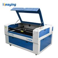 Reaying CNC laser engraving cutter machine wood caving 3D crystal machine 1390 with red dot position system