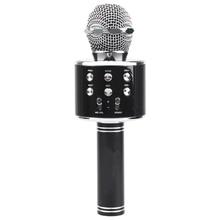 CATS Wireless Bluetooth Karaoke Ws858 Microphone Speaker Portable Handheld Karaoke Mic Speaker Machine Singing Hosting Ktv Ws