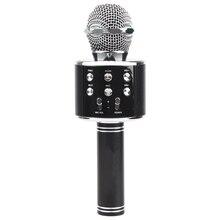 CATS Wireless Bluetooth Karaoke Ws858 Microphone Speaker Portable Handheld Karaoke Mic Speaker Machine Singing Hosting Ktv Ws недорого