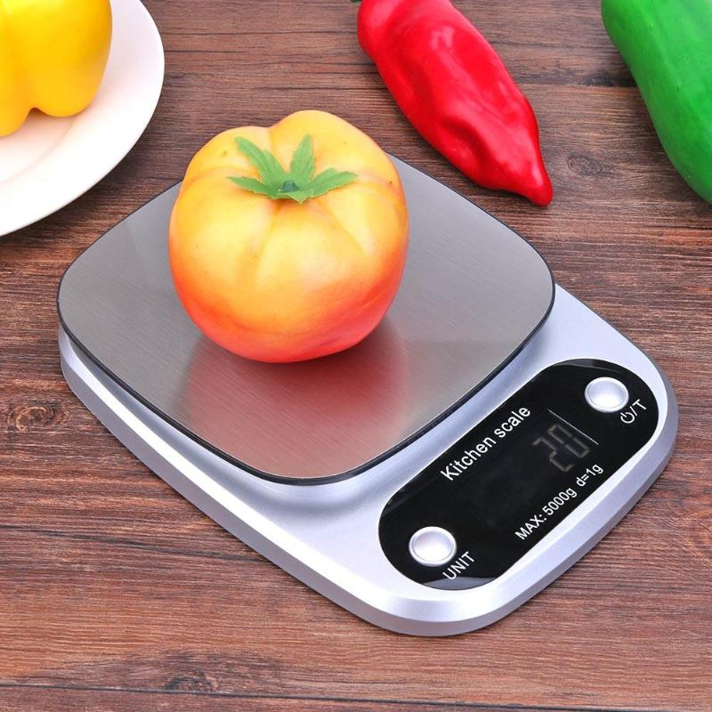 Useful 5/10kg Portable Mini Led Digital Kitchen Scale Food Diet Balance Lcd Screen Weighing Scale Baking Pastry Tools Kitchen Gadgets Relieving Heat And Thirst. Home & Garden